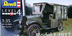 Ford Model T 1917 Ambulance in 1:35 von Revell #034285