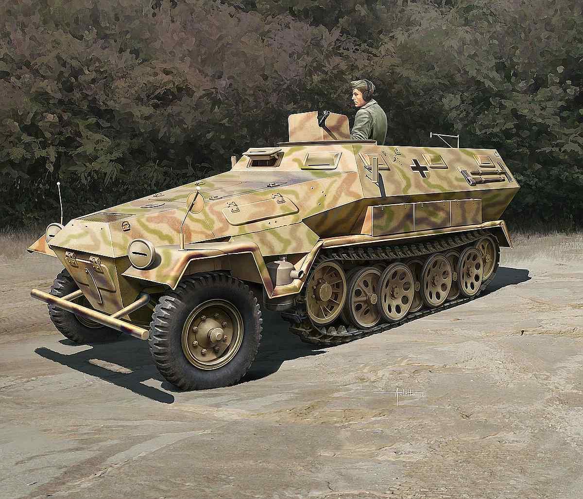 Revell-03295-Sd.Kfz_.-251-1-Ausf.A Revell-Neuheiten Januar-April 2020
