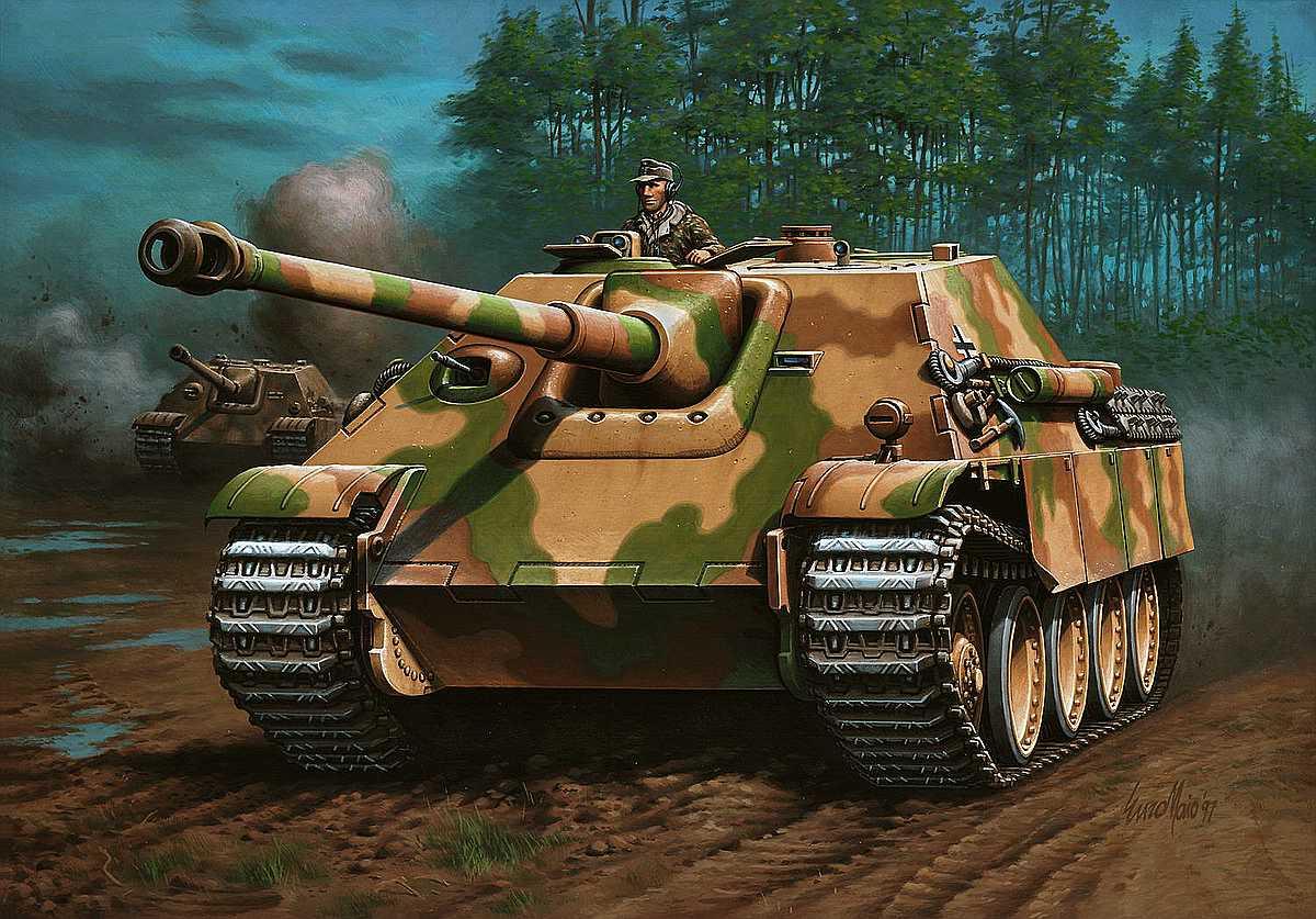 Revell-03327-Jagdpanther-Sd.Kfz_.173 Revell-Neuheiten Januar-April 2020