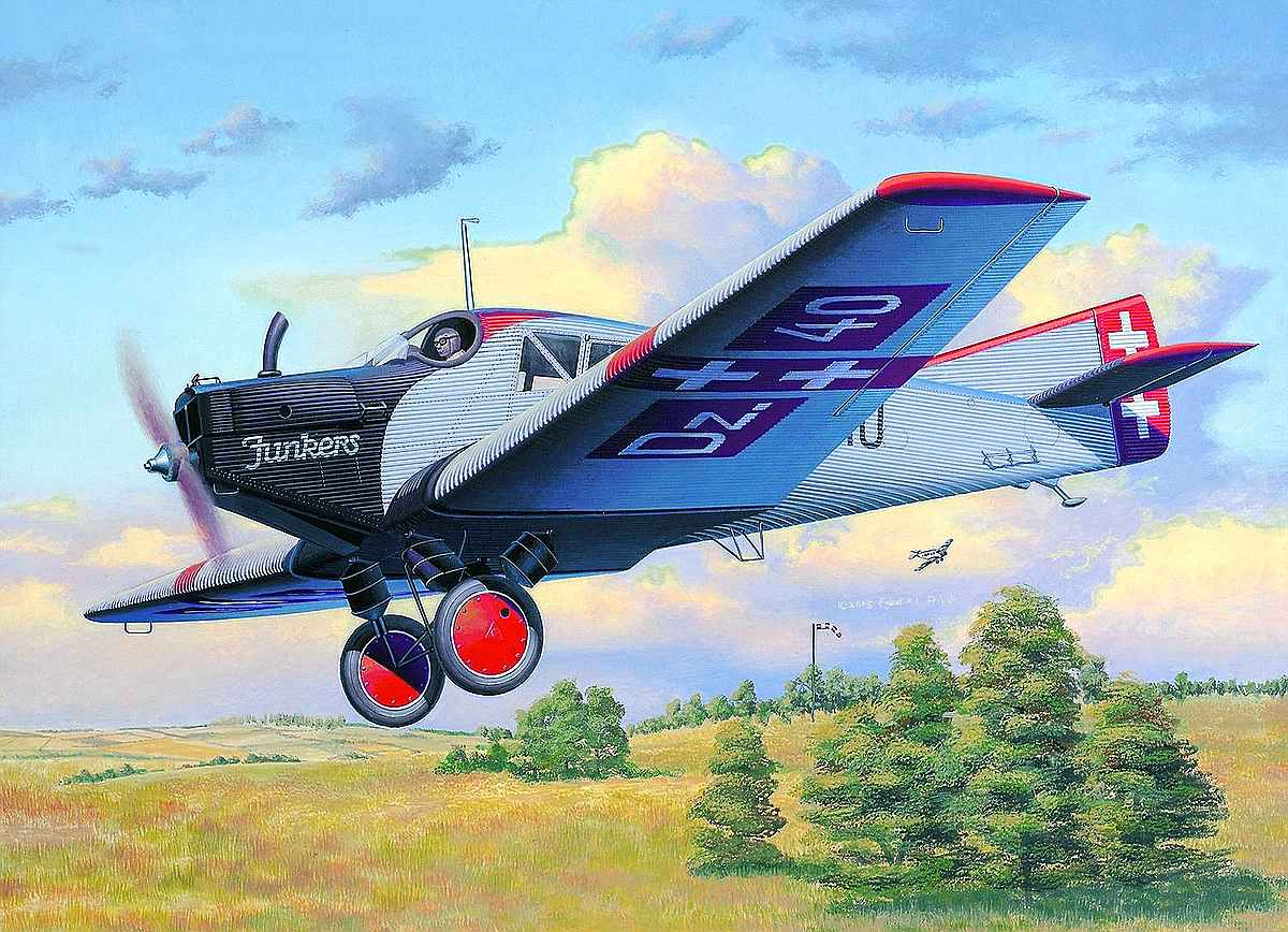 Revell-03870_Junkers-F.13 Revell-Neuheiten Januar-April 2020