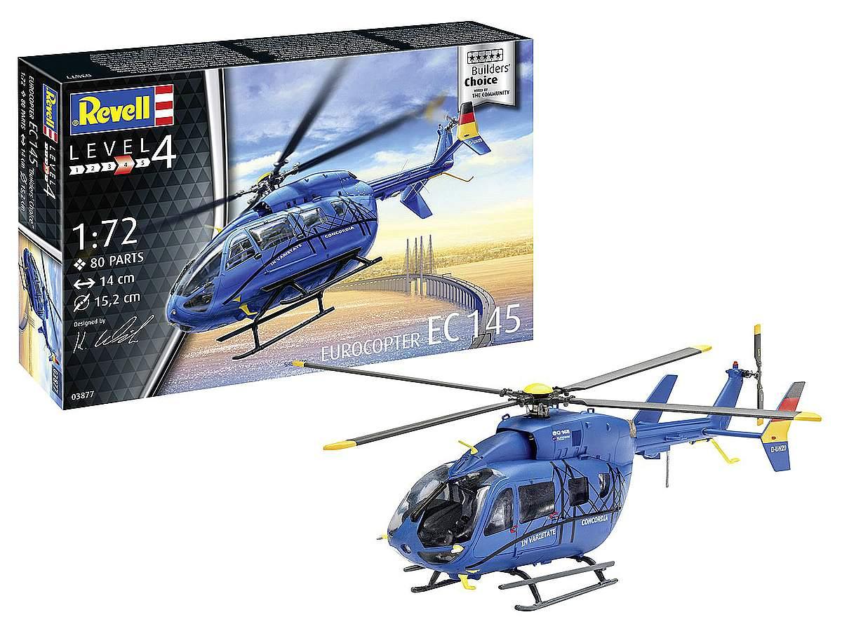 Revell-03877-Eurocopter-EC-145-Builder's-Choice-Packshot Revell-Neuheiten Januar-April 2020