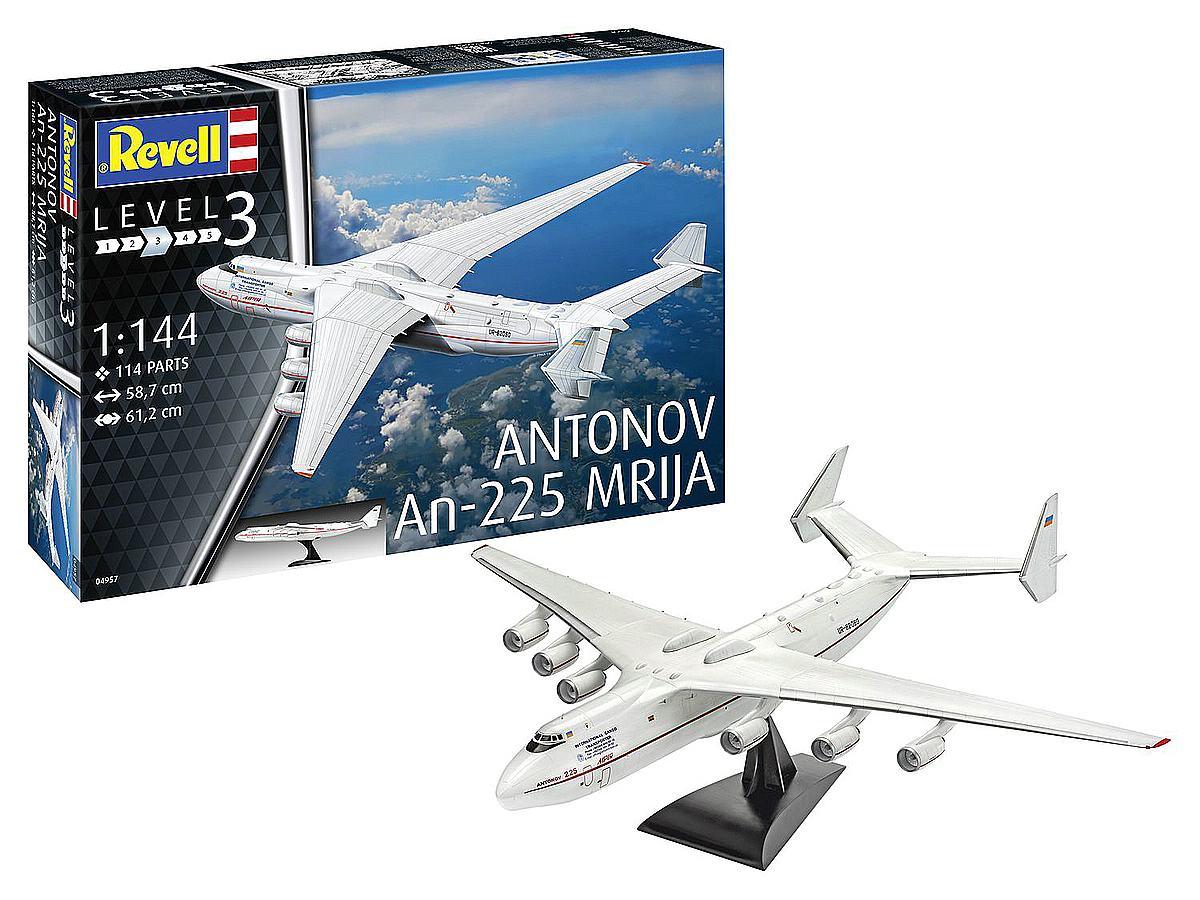 Revell-04957-Antonov-AN-225-Mrija-Packshot Revell-Neuheiten Januar-April 2020