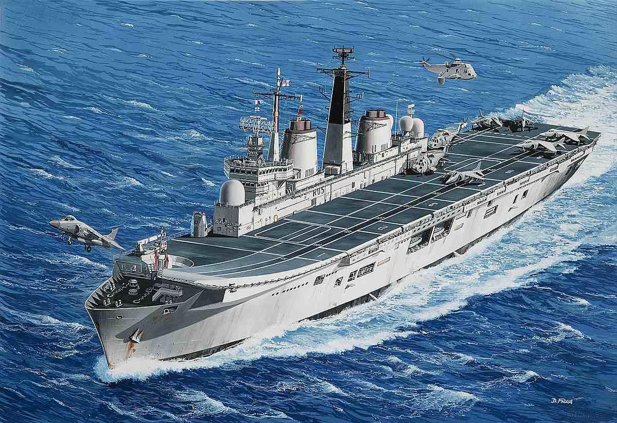 Revell-05172-HMS-Invincible-Falkland-War Revell-Neuheiten Januar-April 2020
