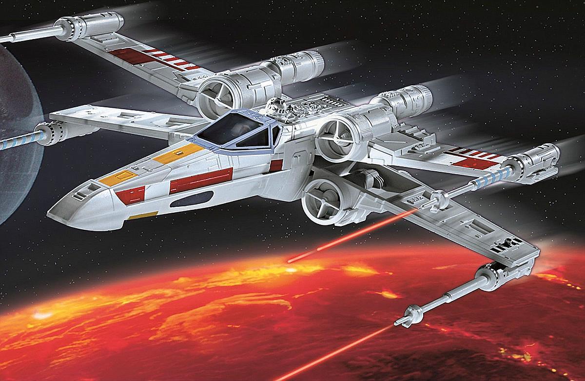 Revell-06779-X-Wing-Fighter Revell-Neuheiten Januar-April 2020