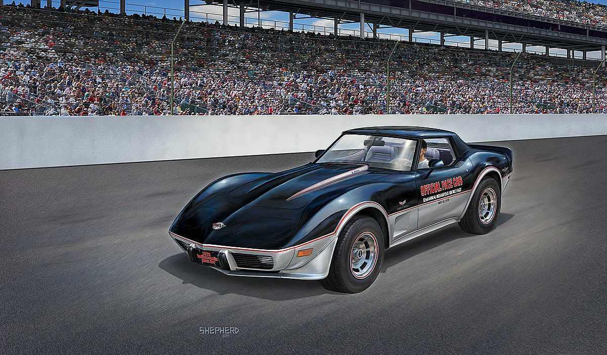 Revell-07646-78-Corvette-C3-Indy-Pace-Car Revell-Neuheiten Januar-April 2020