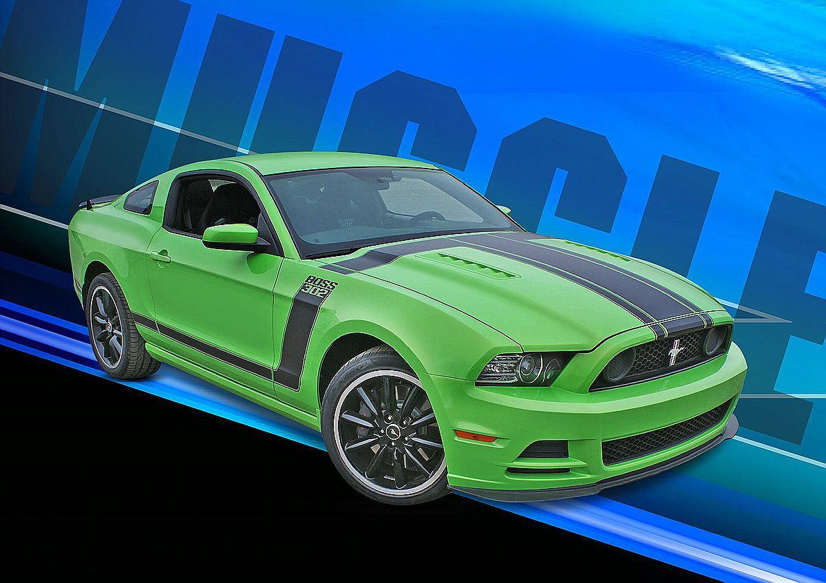 Revell-07652-2013-Ford-Mustang-Boss-302 Revell-Neuheiten Januar-April 2020