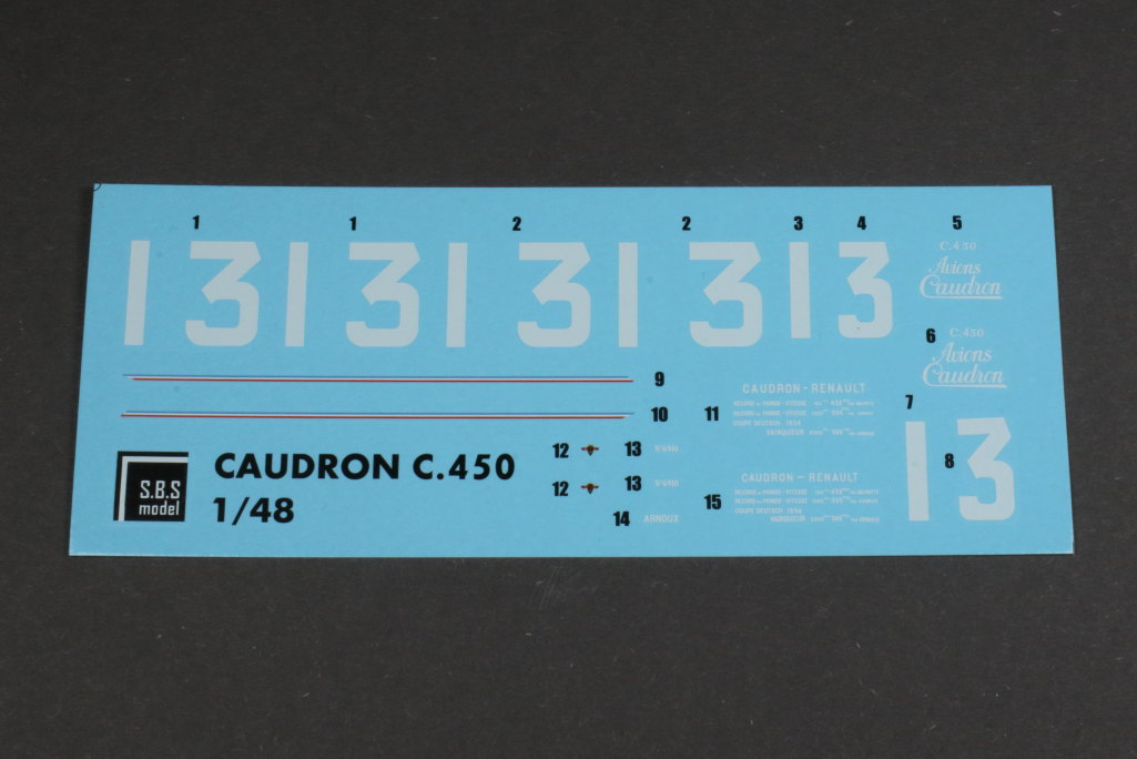 Review_SBS_Caudron_C450_43 Caudron C.450  ---  SBS Model  --- 1/48