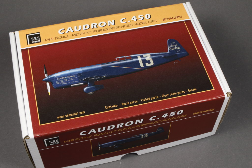 Review_SBS_Caudron_C450_46 Caudron C.450  ---  SBS Model  --- 1/48