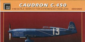 Caudron C.450  —  SBS Model  — 1/48