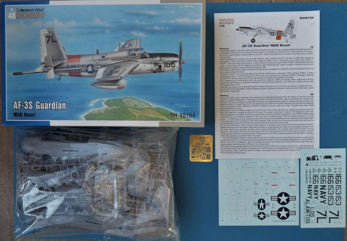 Special-Hobby-SH-48194-Grumman-AF-3S-Guardian-2 Grumman AF-3S Guardian in 1:48 von Special Hobby # 48194