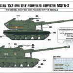 Zvezda-5045-MSTA-S-152mm-Haubitze-Bemalung-2-150x150 MSTA-S 152mm Selbstfahrhaubitze in 1:72 von Zvezda #5045