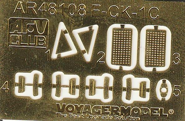 AFV-Club-48109-F-CK-1D-58 F-CK-1D Ching-Kuo - ein Flugzeug-Klon (?) aus Taiwan in 1:48 von AFV-Club # AR 48109