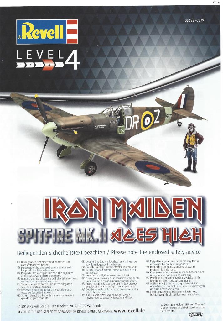 Anleitung01 Iron Maiden Spitfire MK.II Aces High 1:32 Revell (05688)