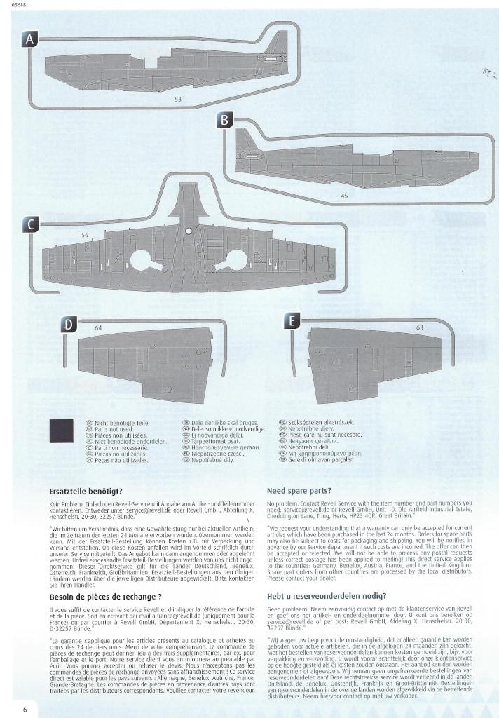 Anleitung06 Iron Maiden Spitfire MK.II Aces High 1:32 Revell (05688)