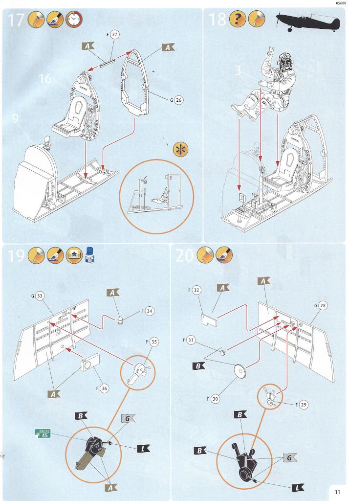 Anleitung11 Iron Maiden Spitfire MK.II Aces High 1:32 Revell (05688)