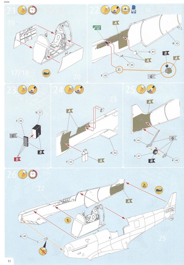 Anleitung12 Iron Maiden Spitfire MK.II Aces High 1:32 Revell (05688)
