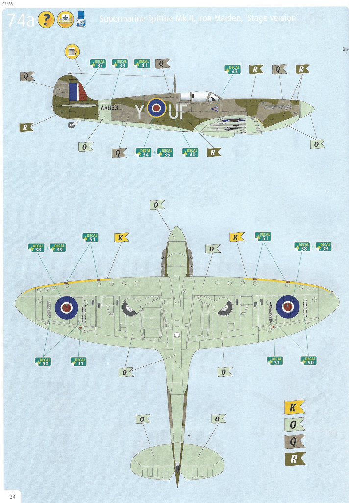 Anleitung24 Iron Maiden Spitfire MK.II Aces High 1:32 Revell (05688)
