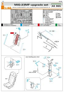 Eduard-48965-MiG-23-MF-Upgrade-set1-209x300 Eduard 48965 MiG-23 MF Upgrade set1