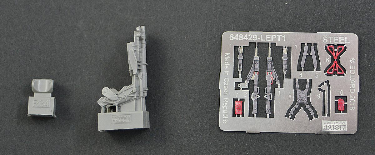 Eduard-648429-MiG-23-MF-Ejection-seat-2 MiG-23 MF/ML Ejection seat in 1:48 von Eduard #648429