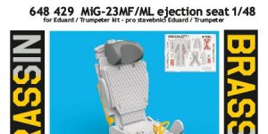 MiG-23 MF/ML Ejection seat in 1:48 von Eduard #648429