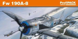 FW 190 A-8 PROFIPACK in 1:72 von Eduard 70111