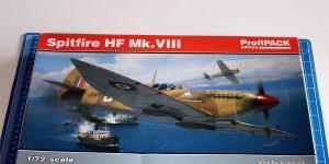 Spitfire HF Mk.VIII in 1:72 PROFIPACK von EDUARD #70129