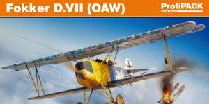 Fokker D. VII (OAW) in 1:72 von Eduard # 70131