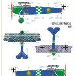 Eduard-70131-Fokker-D.VII-OAW-ProfiPack-BEmalungsanleitung-2-150x150 Fokker D. VII (OAW) in 1:72 von Eduard # 70131