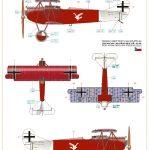 Eduard-70131-Fokker-D.VII-OAW-ProfiPack-BEmalungsanleitung-3-150x150 Fokker D. VII (OAW) in 1:72 von Eduard # 70131