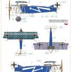 Eduard-70131-Fokker-D.VII-OAW-ProfiPack-BEmalungsanleitung-4-150x150 Fokker D. VII (OAW) in 1:72 von Eduard # 70131