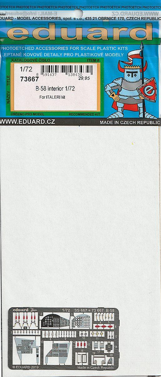 Eduard-72667-B-58-Interior-1 Eduard-Detailsets für die B-58 von Italeri