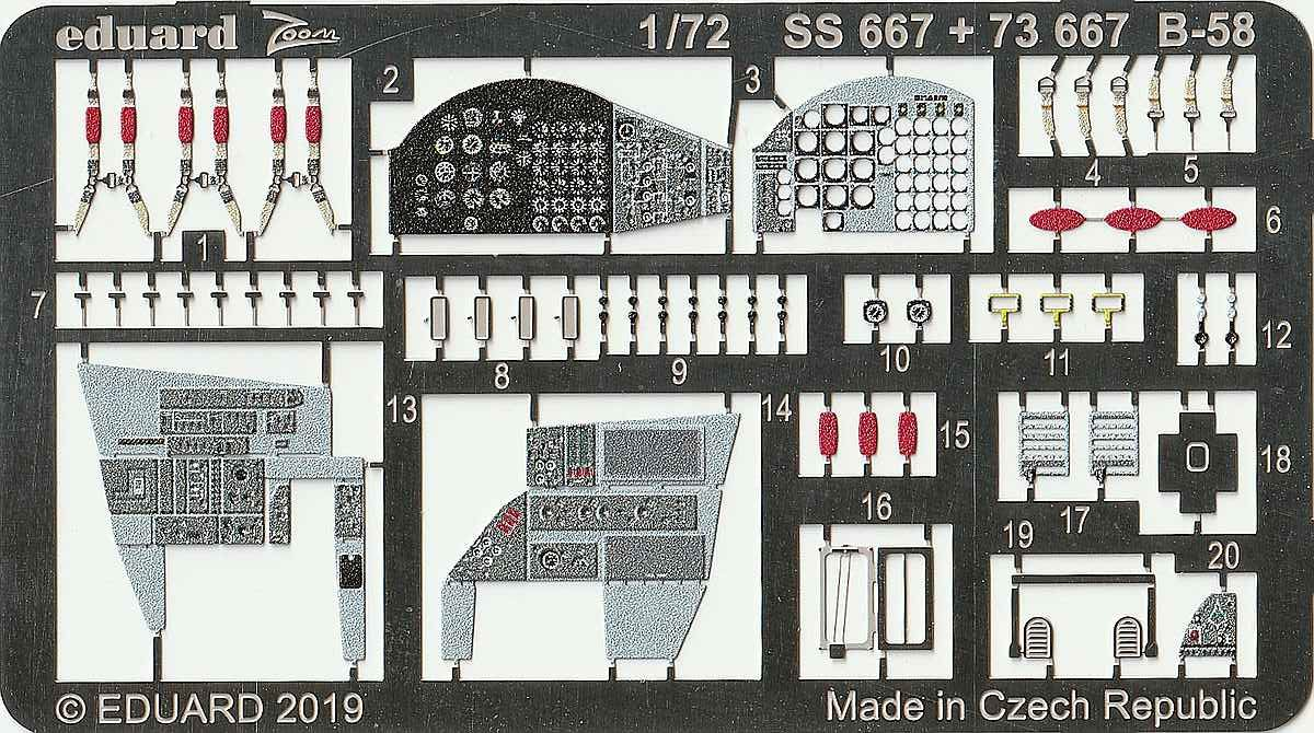 Eduard-72667-B-58-Interior-2-e1576514357341 Eduard-Detailsets für die B-58 von Italeri