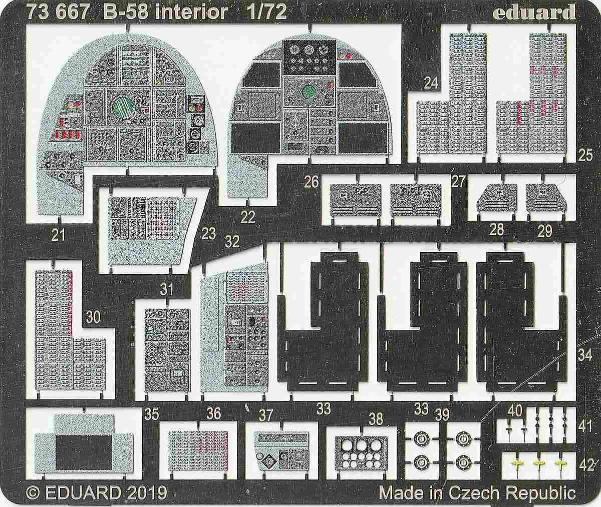 Eduard-72667-B-58-Interior-3-e1576514370861 Eduard-Detailsets für die B-58 von Italeri
