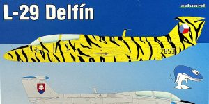 L-29 Delfin in 1:48 von Eduard als WEEKEND-Edition #8464