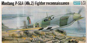 Kit-Archäologie: Mustang P-51A Mk.2 in 1:72 von Frog F.427