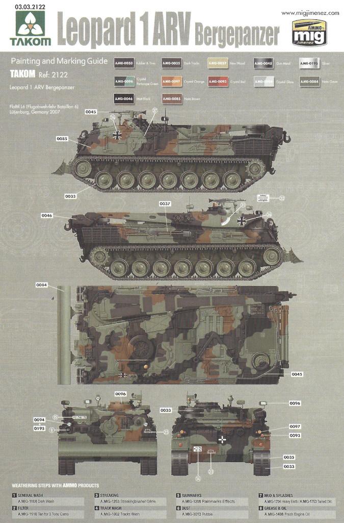 Markierung03 Bergepanzer 2 Standard 1:35 Takom (#2122)