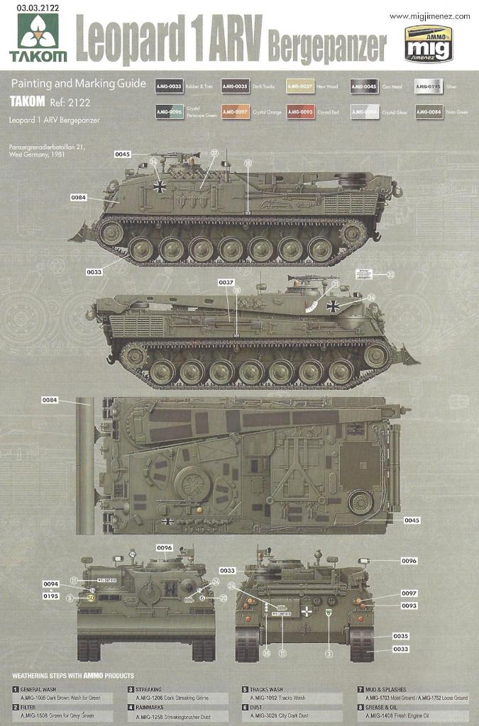 Markierung04 Bergepanzer 2 Standard 1:35 Takom (#2122)