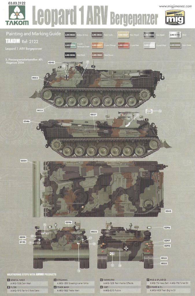 Markierung05 Bergepanzer 2 Standard 1:35 Takom (#2122)