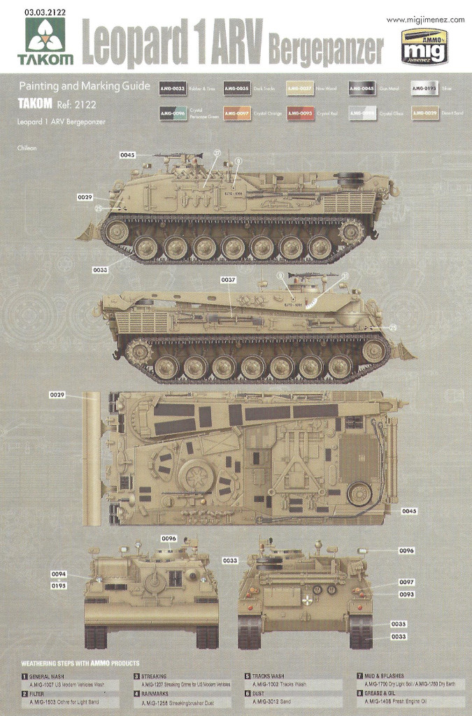 Markierung06 Bergepanzer 2 Standard 1:35 Takom (#2122)