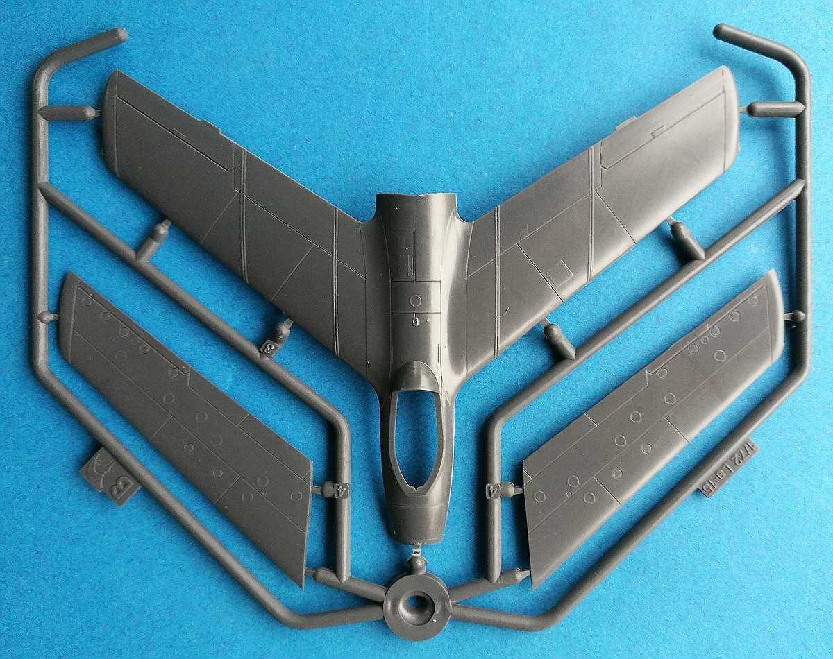 Mars-Models-72103-Lavochkin-La-15-Fantail-15 Lavochkin La-15 Fantail in 1:72 von Mars Models # 72103