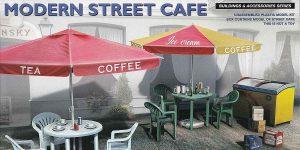 Modern Street Cafe in 1:35 von MiniArt # 35610