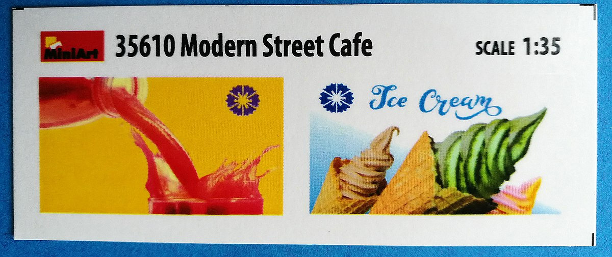 MiniArt-35610-Modern-Street-cafe-21 Modern Street Cafe in 1:35 von MiniArt # 35610