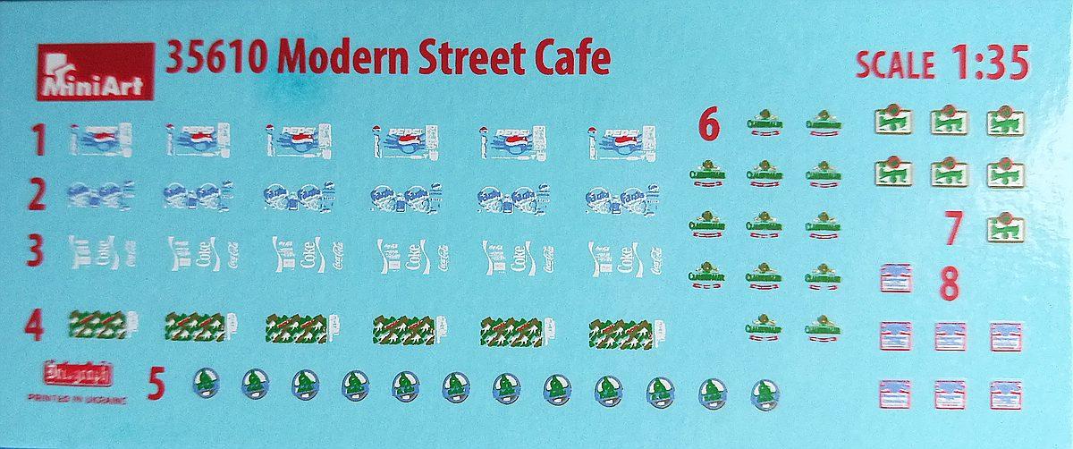MiniArt-35610-Modern-Street-cafe-22 Modern Street Cafe in 1:35 von MiniArt # 35610