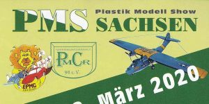 Plastik Modell Show Sachsen am 7./8. März 2020