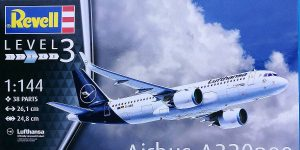 Airbus A320Neo in 1:144 von Revell # 03942