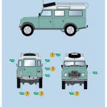 Revell-07047-Landrover-Series-III-Bauanleitung13-150x150 Landrover III LWB in 1:24 von Revell # 07047