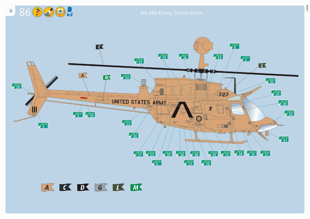 "Review_Revell_OH-58D_61 OH-58D ""Kiowa"" --- Revell 1/35"