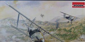 Arado Ar 68 E in 1:48 von Roden # 427