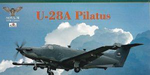 Pilatus U-28A in 1:72 von Sova-M #SVM 72016