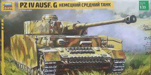 Panzer IV Ausf. G in 1.35 von Zvezda #